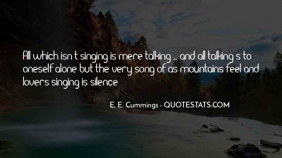 E. E. Cummings Quotes #1716651