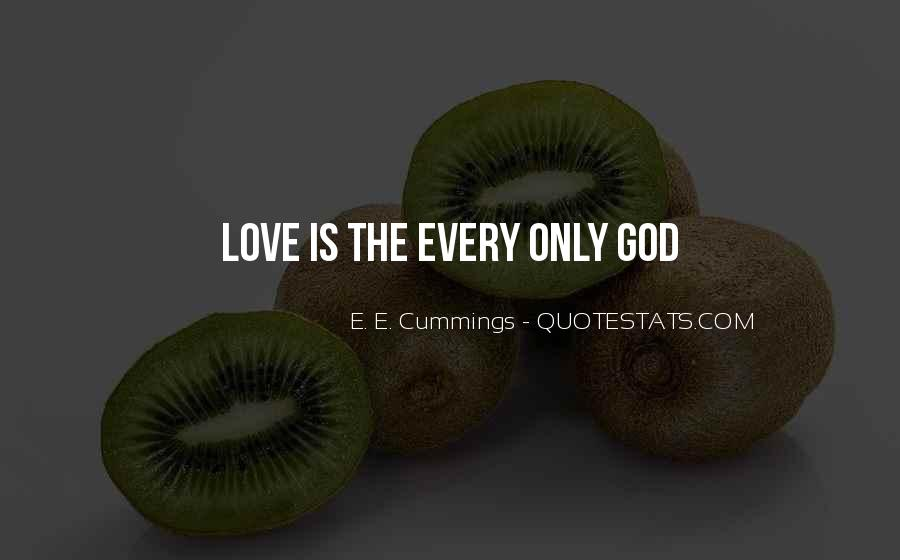 E. E. Cummings Quotes #1842103