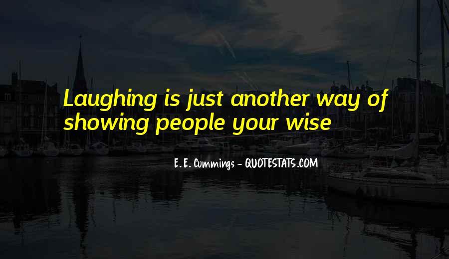 E. E. Cummings Quotes #236300