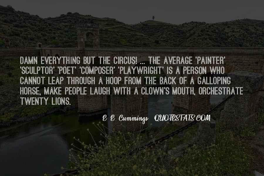 E. E. Cummings Quotes #245915