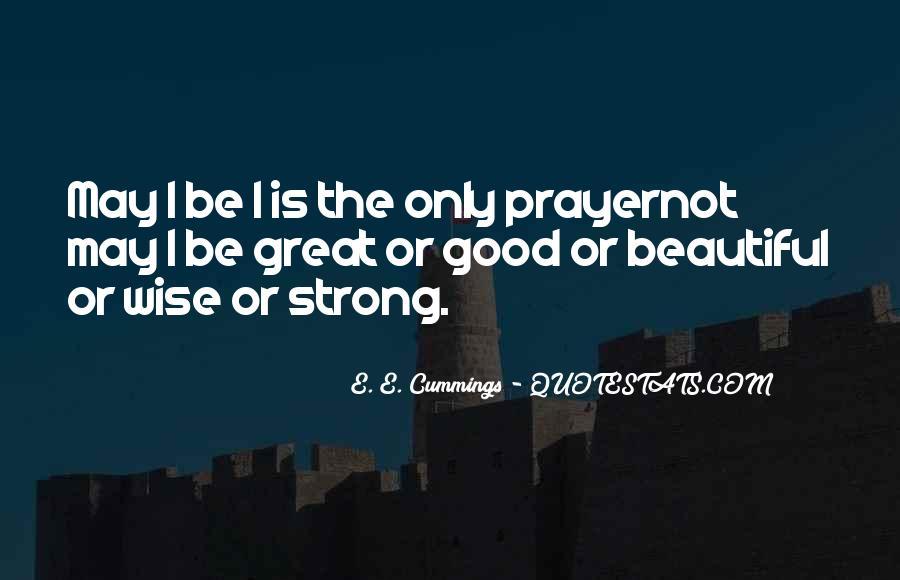 E. E. Cummings Quotes #278865