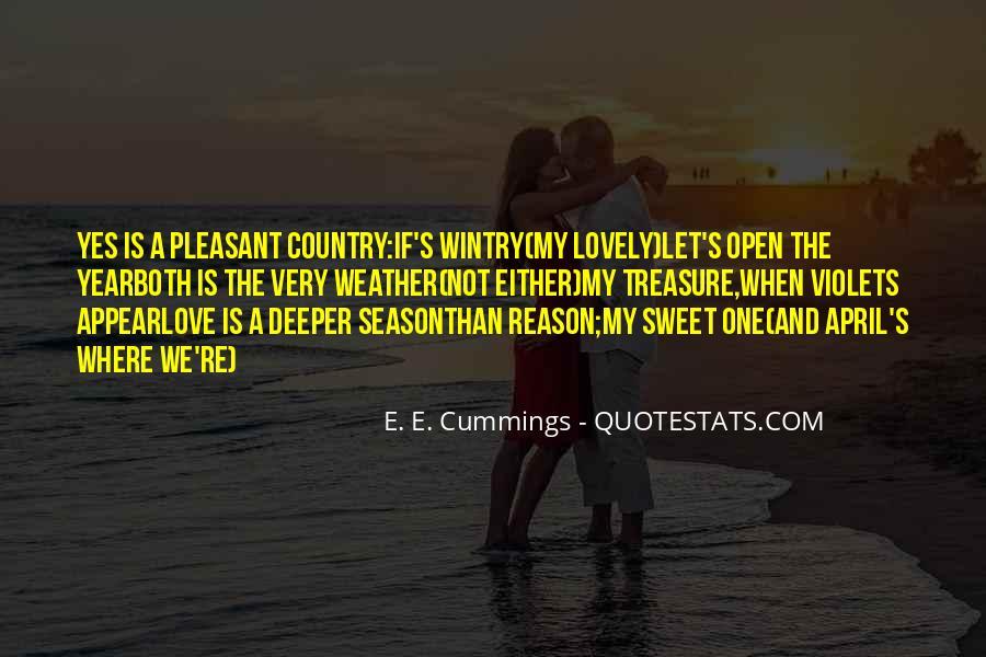 E. E. Cummings Quotes #413748
