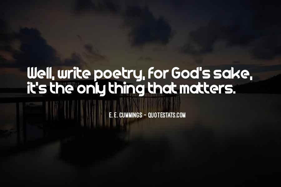 E. E. Cummings Quotes #425083