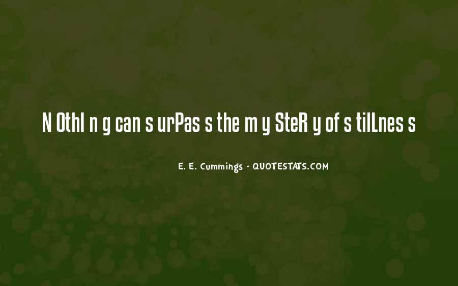 E. E. Cummings Quotes #508523