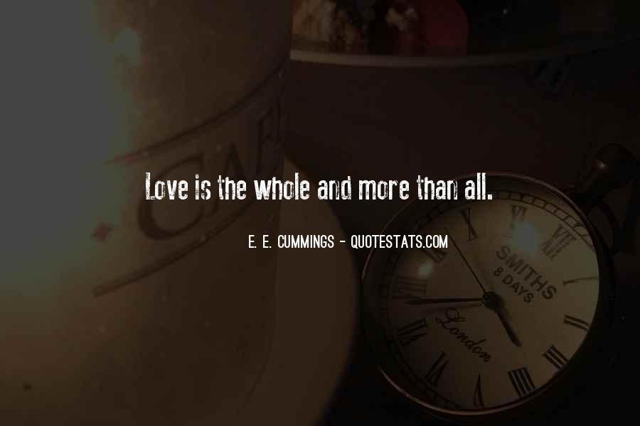 E. E. Cummings Quotes #760085