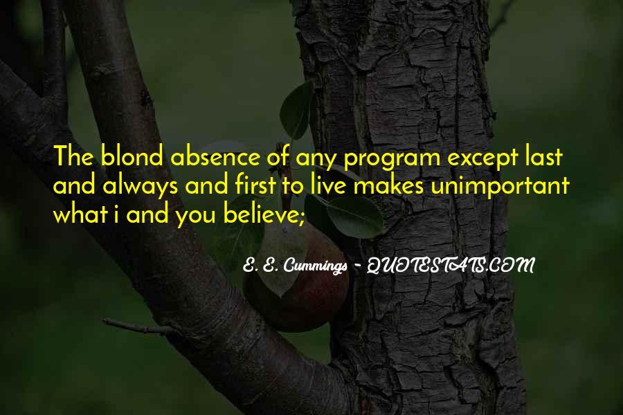 E. E. Cummings Quotes #883946
