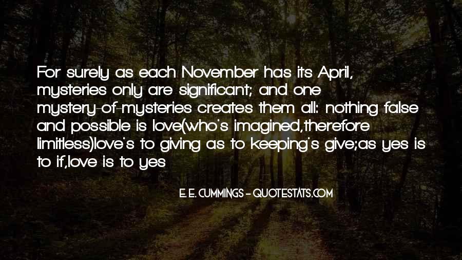 E. E. Cummings Quotes #925607
