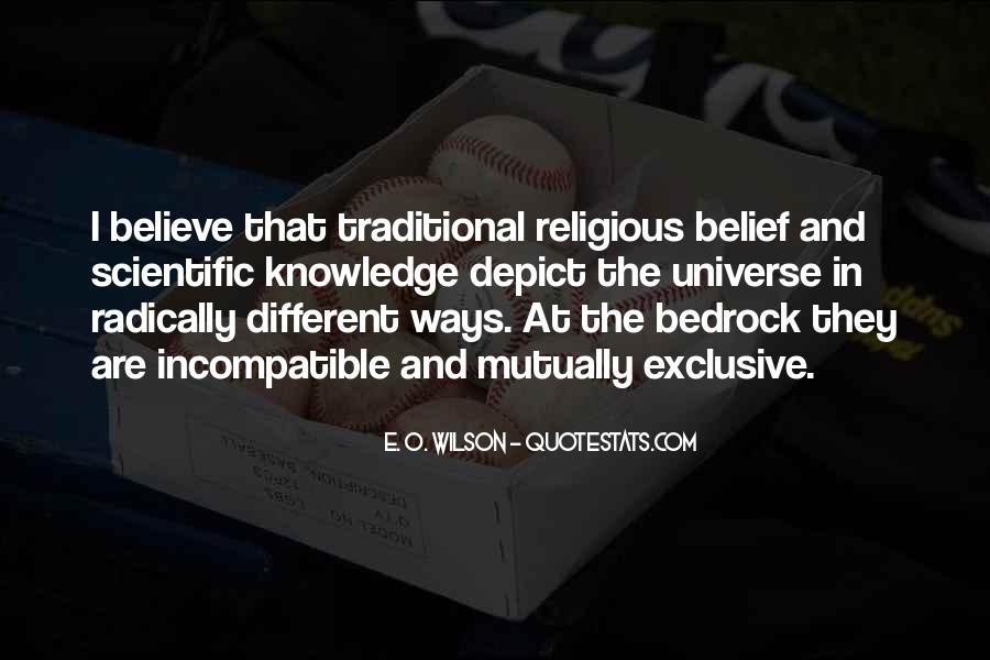 E. O. Wilson Quotes #1305689