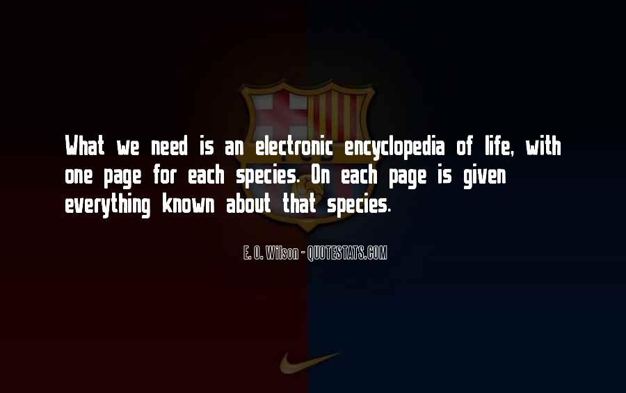 E. O. Wilson Quotes #1443043