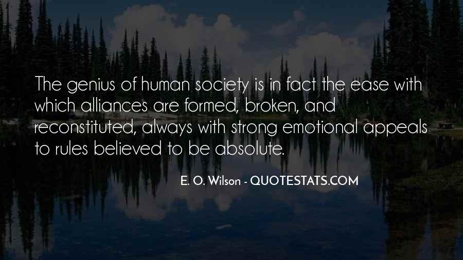 E. O. Wilson Quotes #1757843