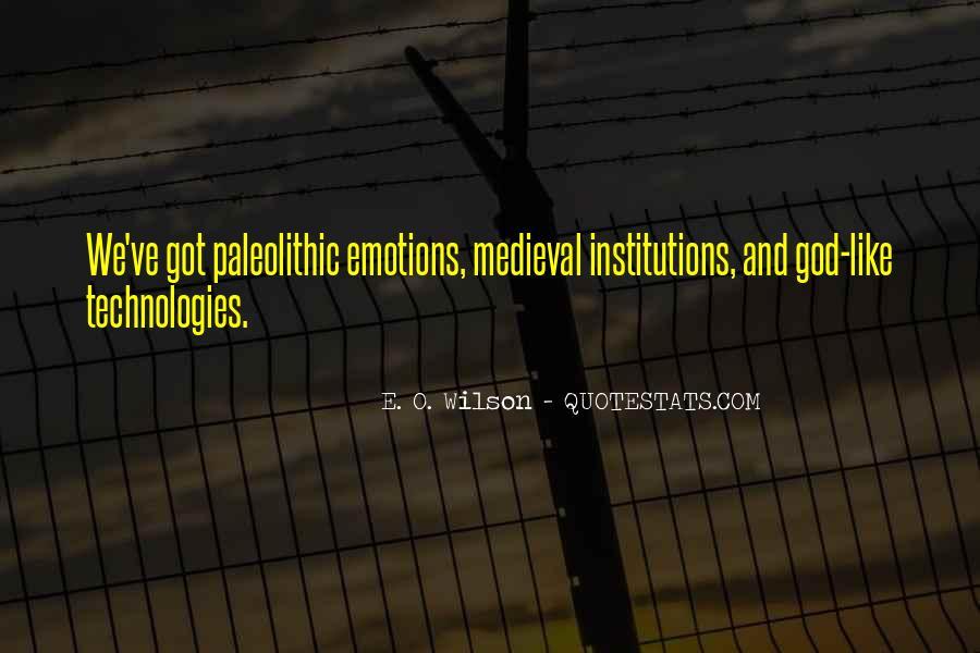 E. O. Wilson Quotes #1812052