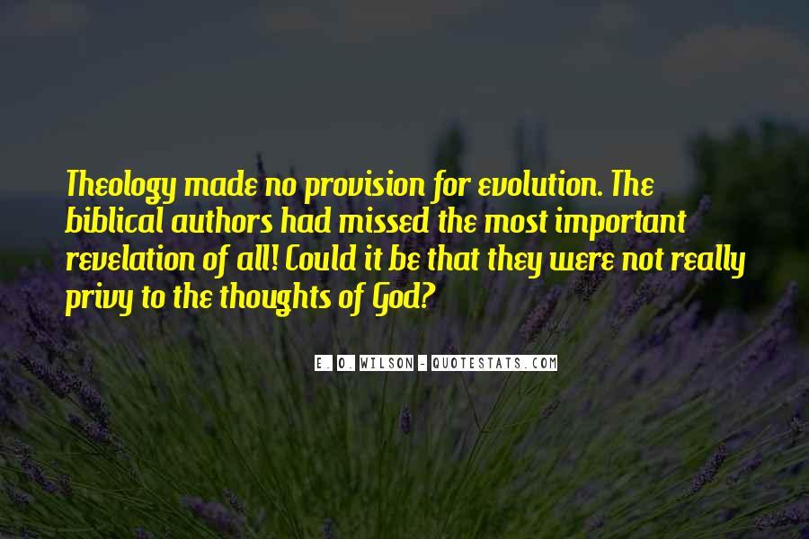 E. O. Wilson Quotes #1826832
