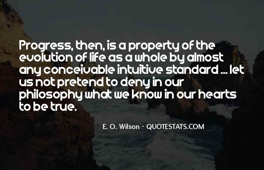 E. O. Wilson Quotes #1856999