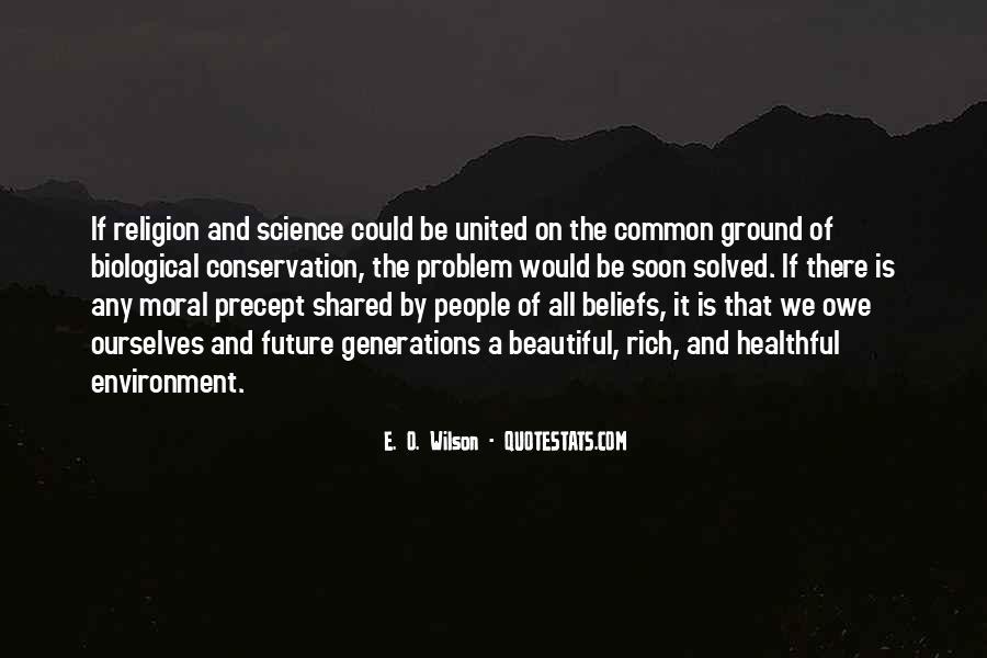 E. O. Wilson Quotes #197047