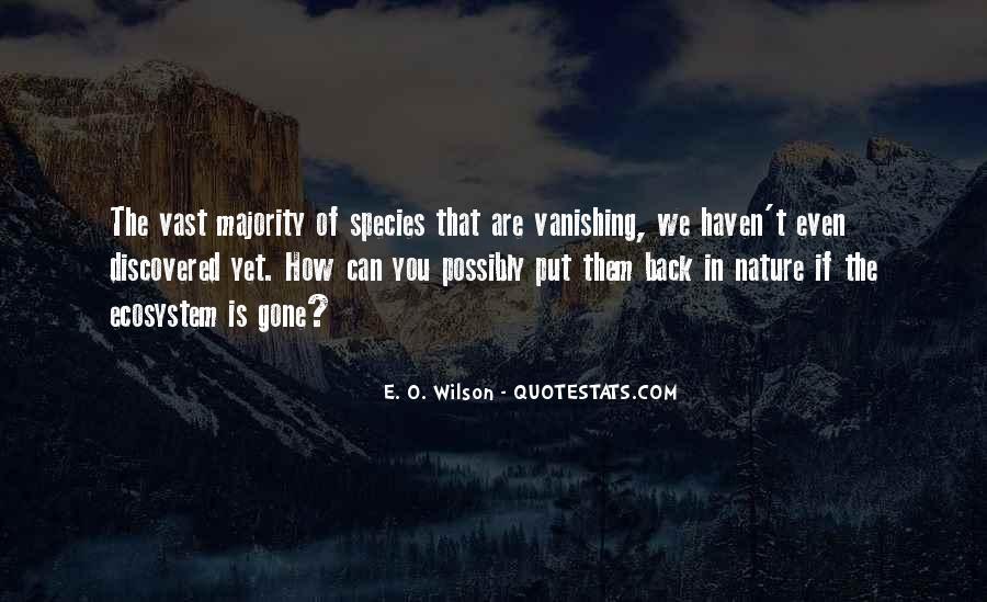 E. O. Wilson Quotes #24093