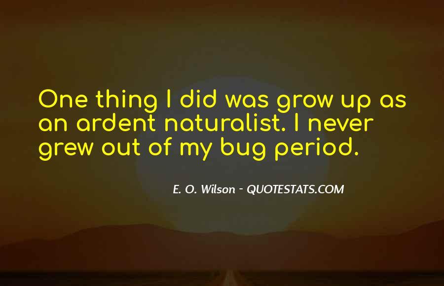 E. O. Wilson Quotes #293372