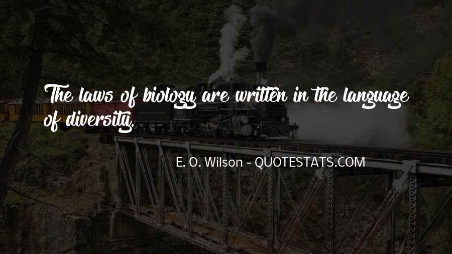 E. O. Wilson Quotes #314243