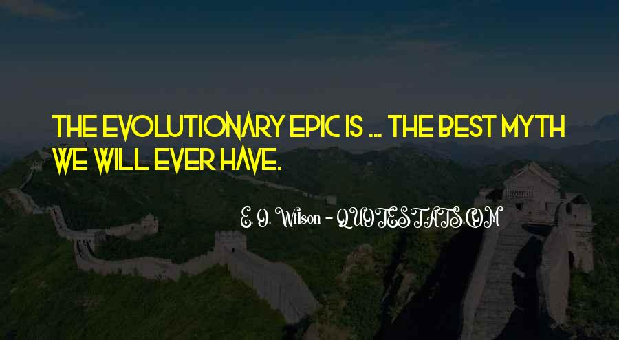 E. O. Wilson Quotes #47092