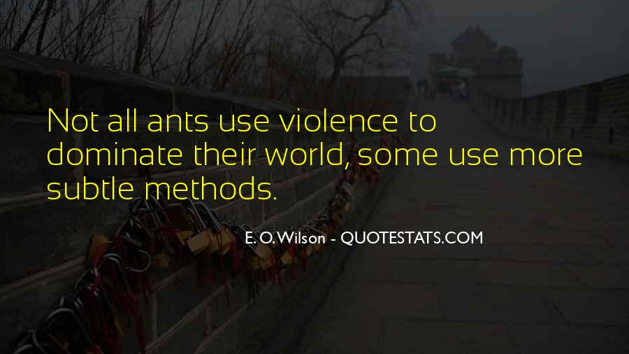 E. O. Wilson Quotes #663776