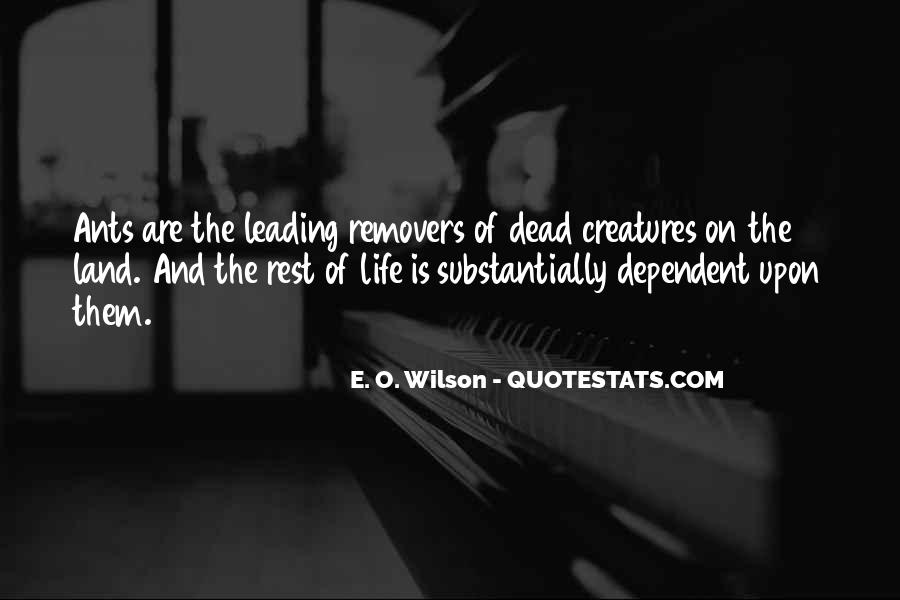 E. O. Wilson Quotes #774097