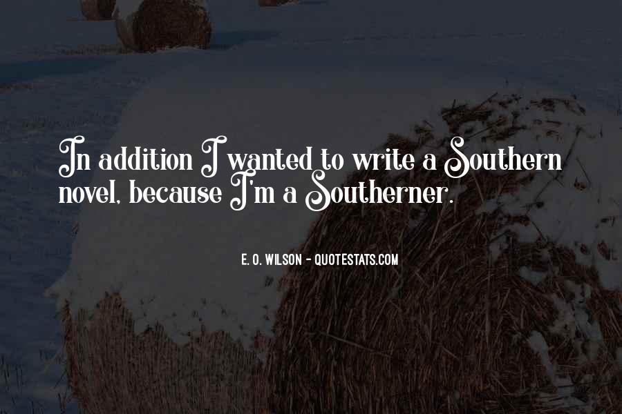 E. O. Wilson Quotes #954929