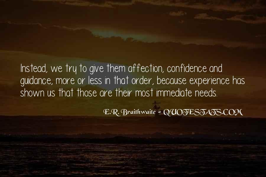 E.R. Braithwaite Quotes #1864527