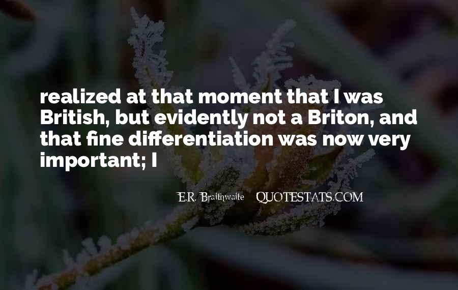 E.R. Braithwaite Quotes #1867221