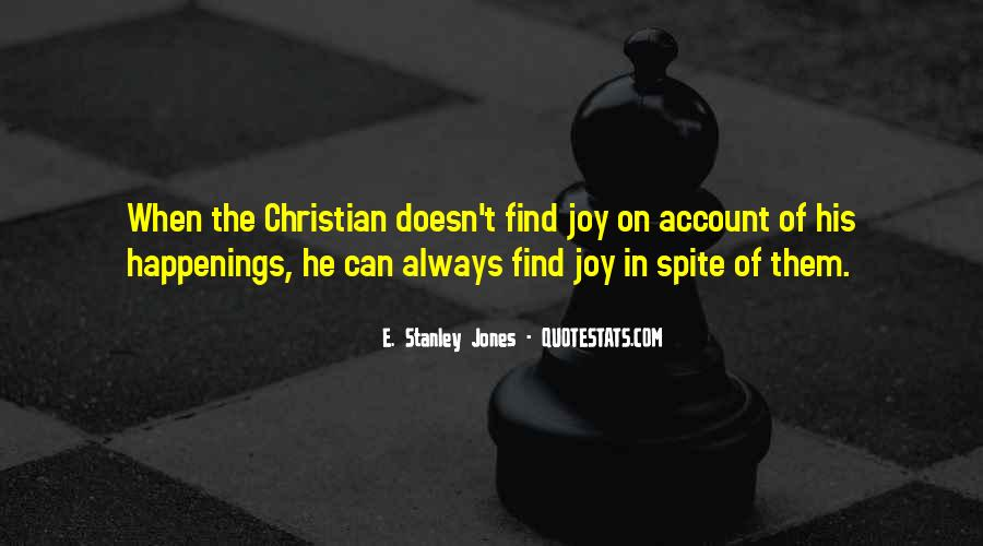 E. Stanley Jones Quotes #884516