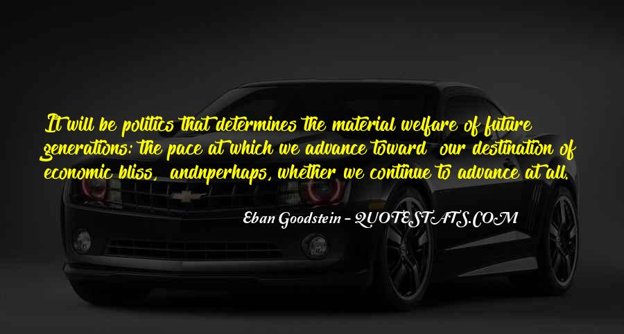 Eban Goodstein Quotes #1106800