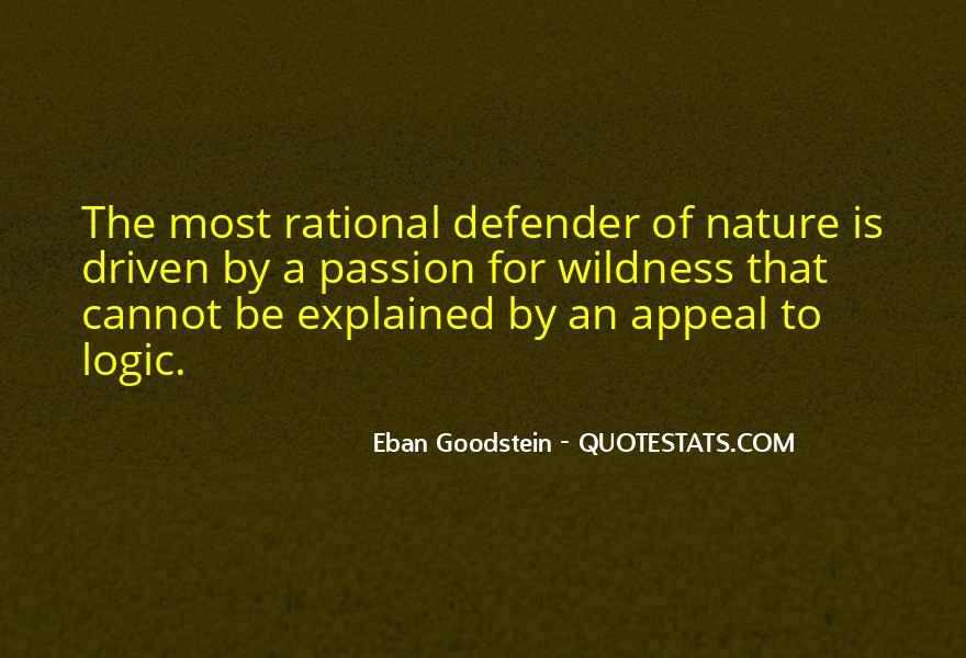 Eban Goodstein Quotes #1385620