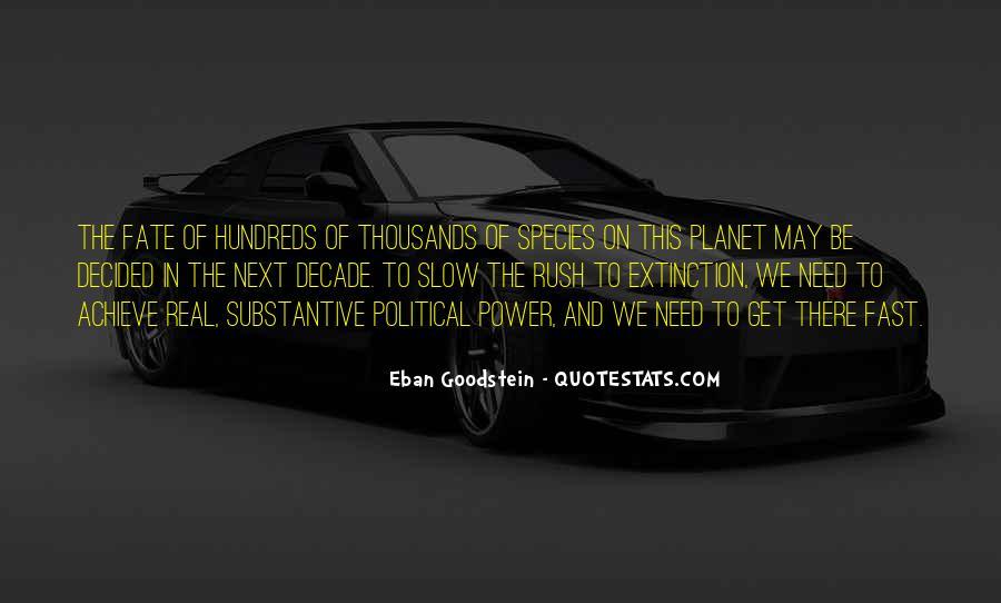 Eban Goodstein Quotes #1400198