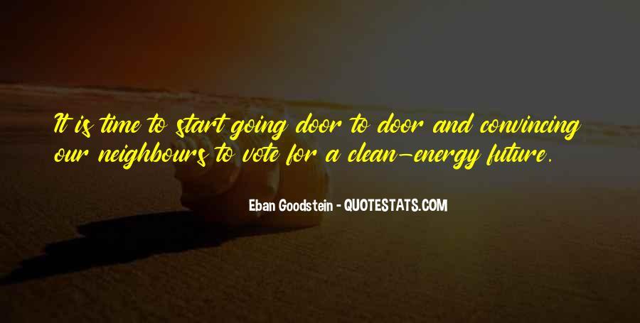 Eban Goodstein Quotes #1574732