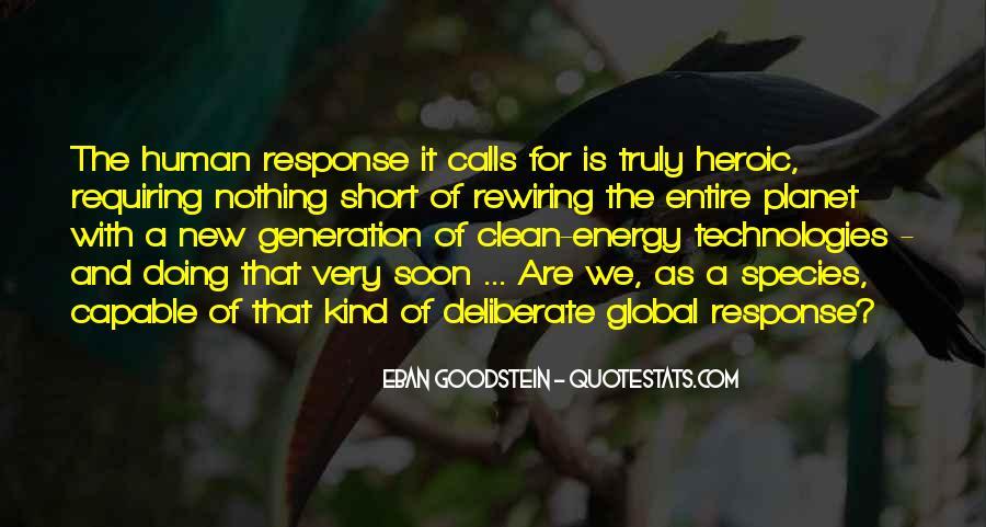 Eban Goodstein Quotes #269562