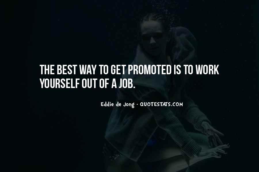 Eddie De Jong Quotes #299427