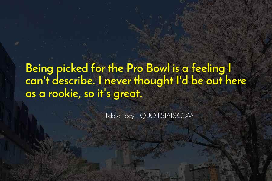 Eddie Lacy Quotes #612565
