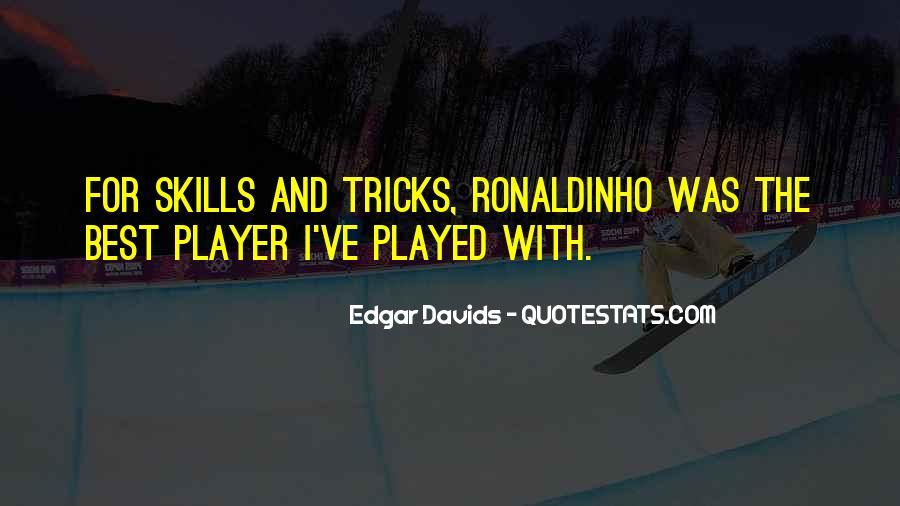 Edgar Davids Quotes #67732