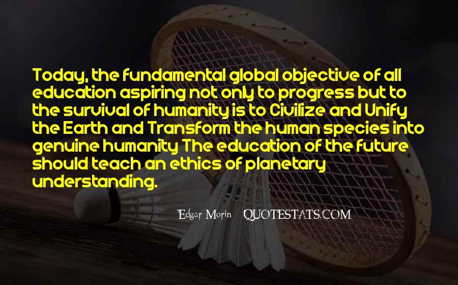 Edgar Morin Quotes #808694