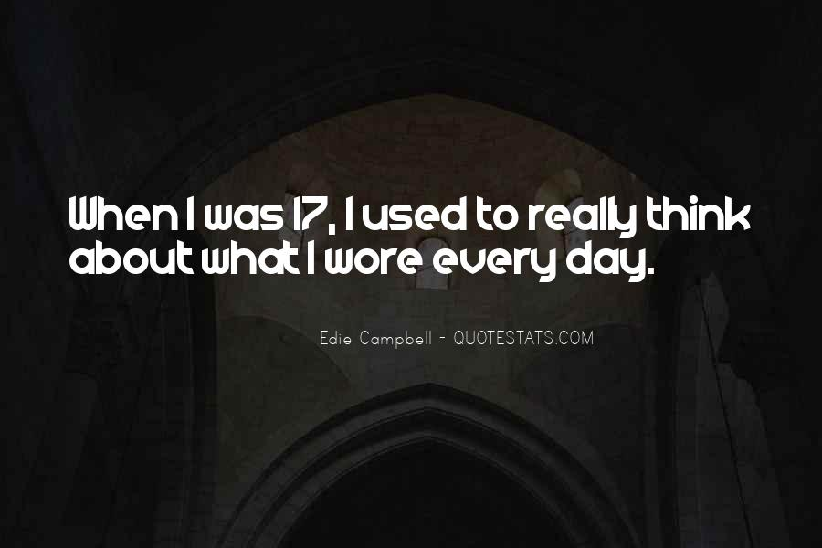 Edie Campbell Quotes #17508