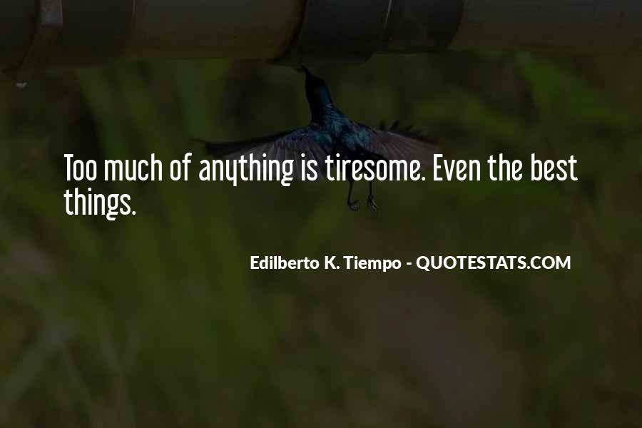 Edilberto K. Tiempo Quotes #1334532