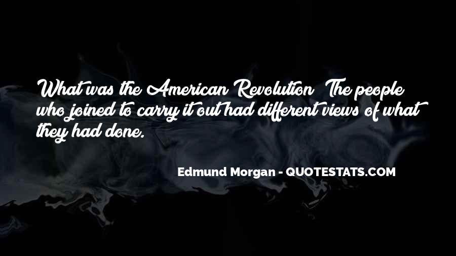 Edmund Morgan Quotes #150942