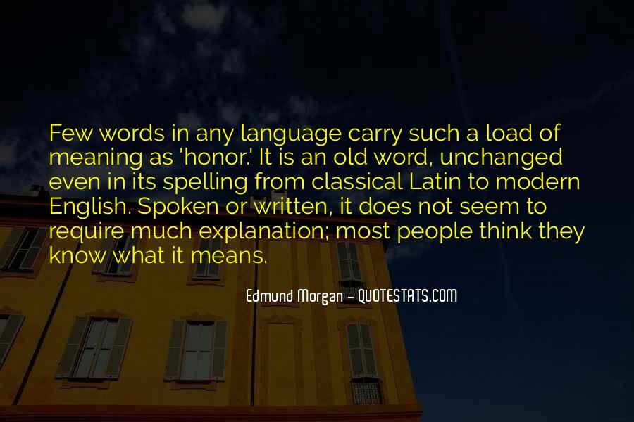 Edmund Morgan Quotes #160941