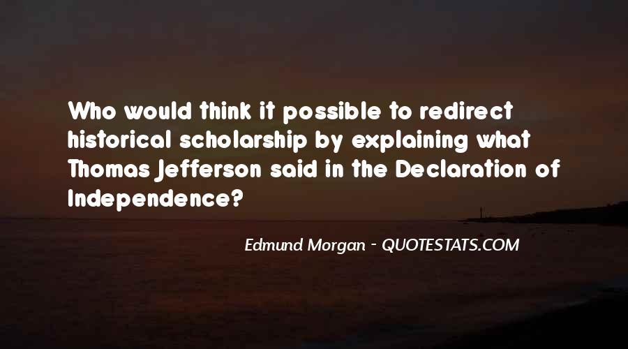 Edmund Morgan Quotes #1782326