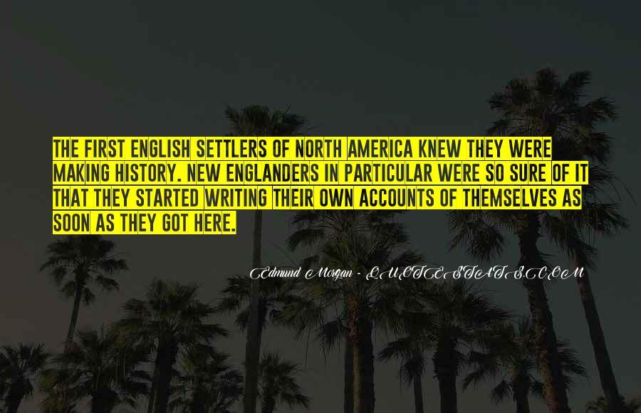 Edmund Morgan Quotes #259165