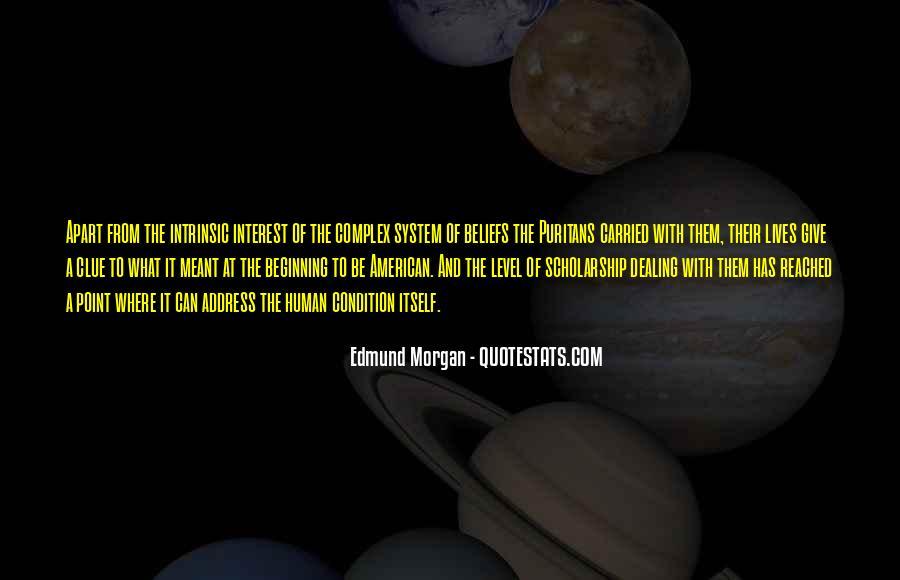 Edmund Morgan Quotes #302825