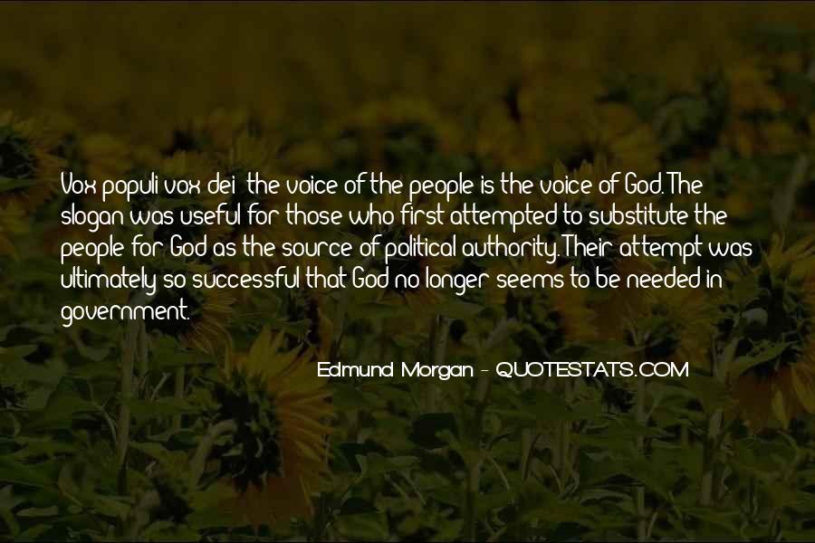 Edmund Morgan Quotes #535420