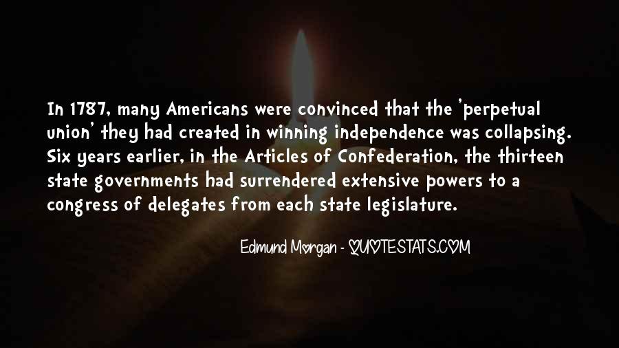 Edmund Morgan Quotes #577952