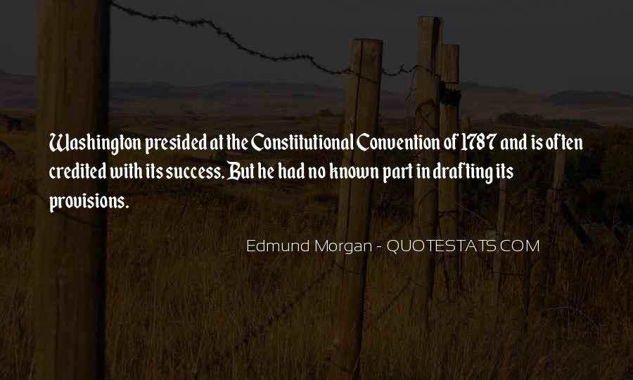 Edmund Morgan Quotes #876302