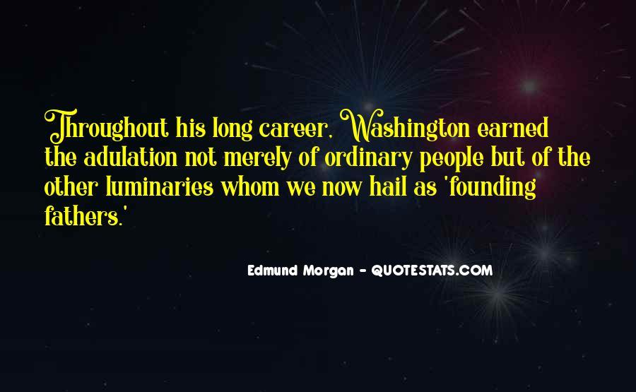 Edmund Morgan Quotes #916765
