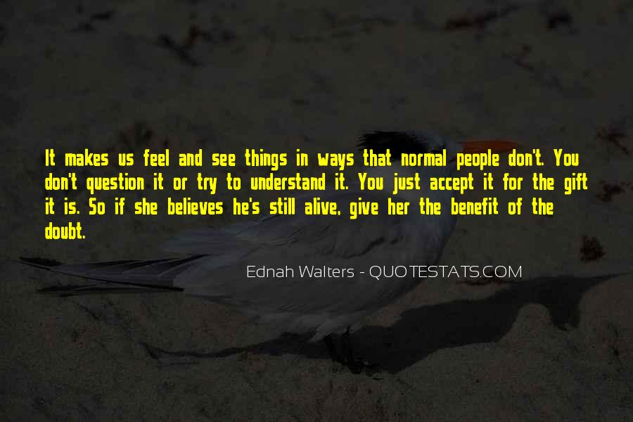 Ednah Walters Quotes #1632826