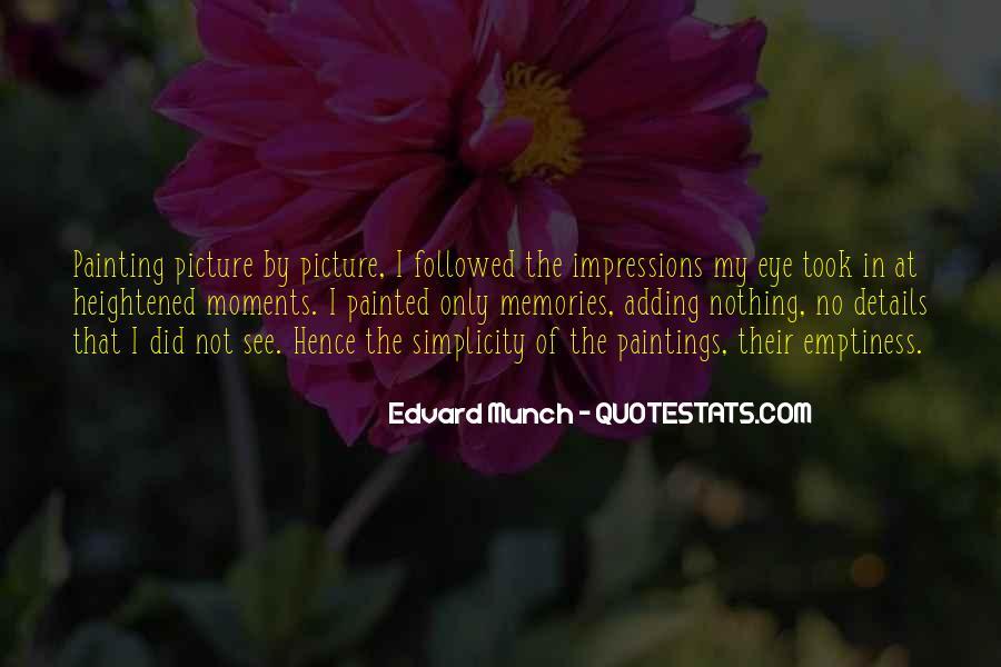 Edvard Munch Quotes #257335